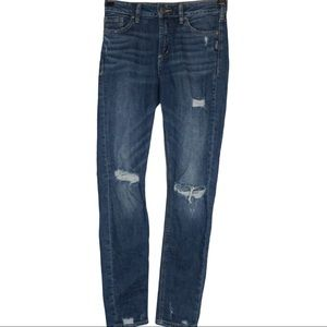 Silver Jeans Distressed  Mazy Skinny Jeans